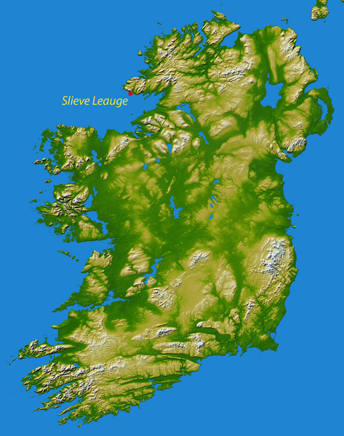 Topography_Ireland 500
