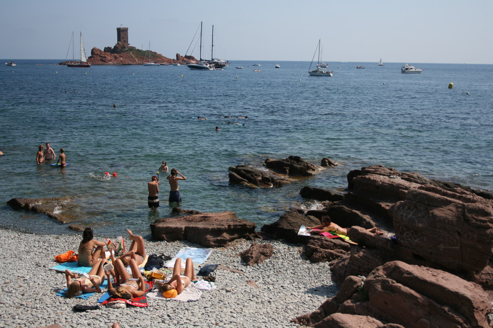 Île d'Or a strandról  BB (1)
