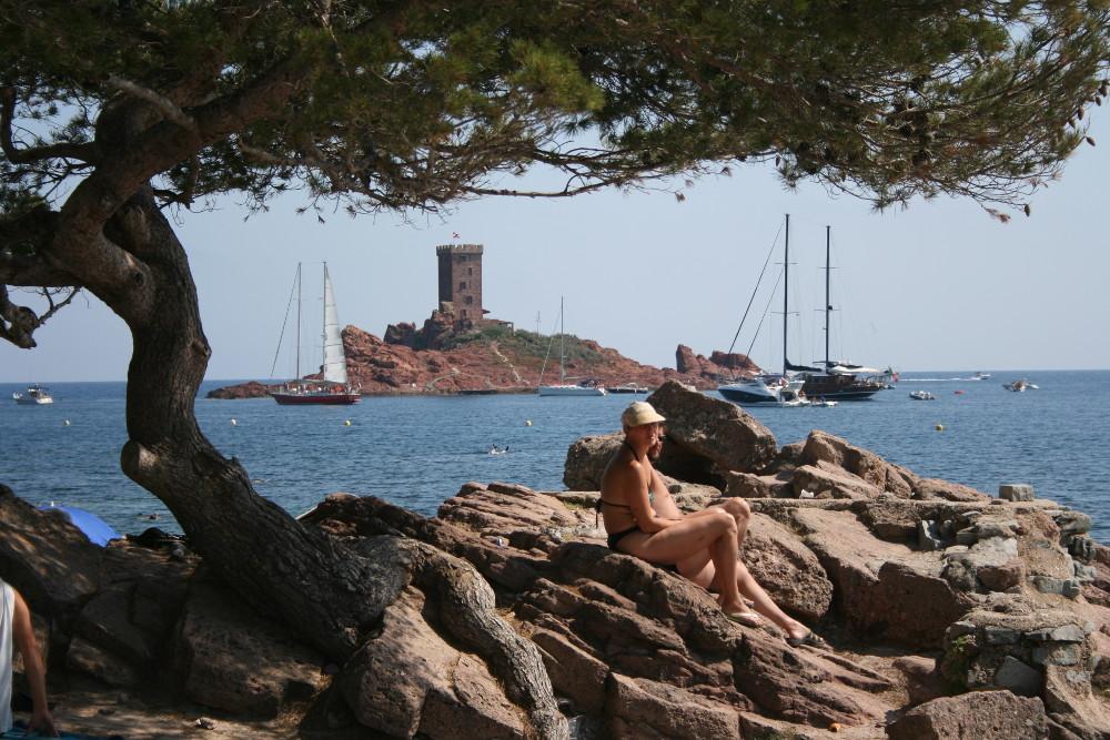 Île d'Or a strandról  BB (2)