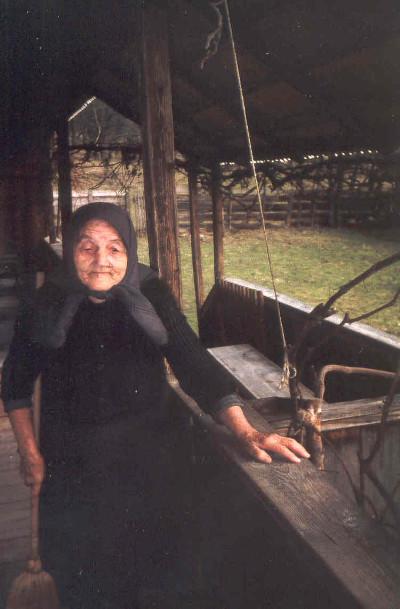 Sipos Erzsébet 1995-ben Fotó: Barna Béla