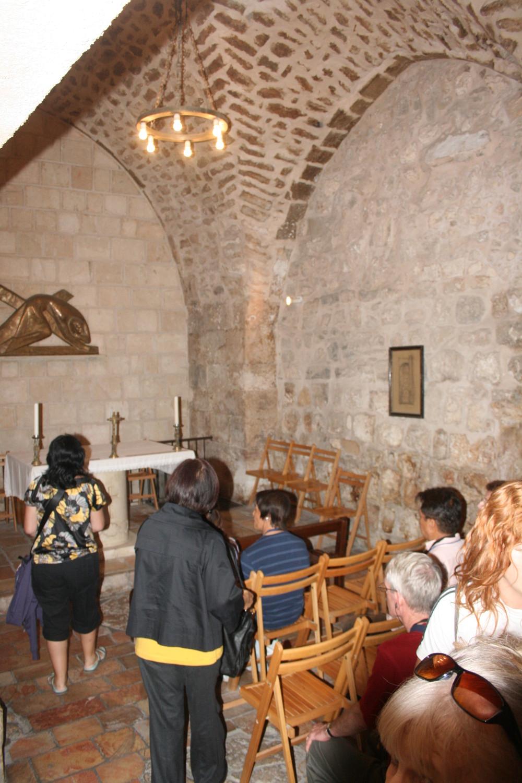 VI. stáció Veronika megtörli Jézus arcát