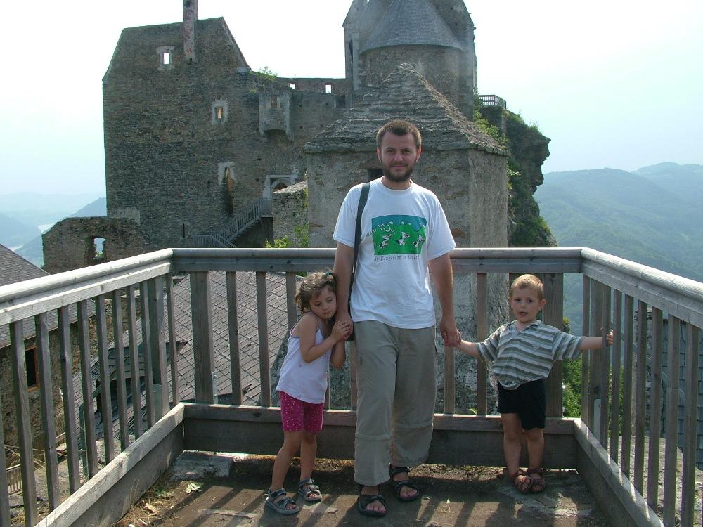 Aggstein vára kiváló gyerekekkel is - Fotó: Fekete Mónika