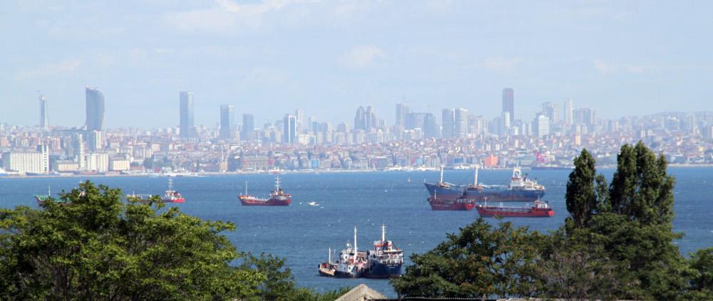 Isztambul látképe a Héttoronyból - Fotó: Barna Béla