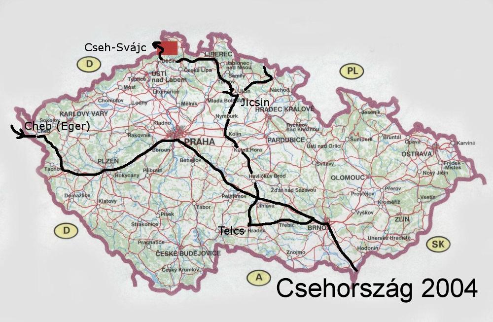 Csehországi utunk Borbálával
