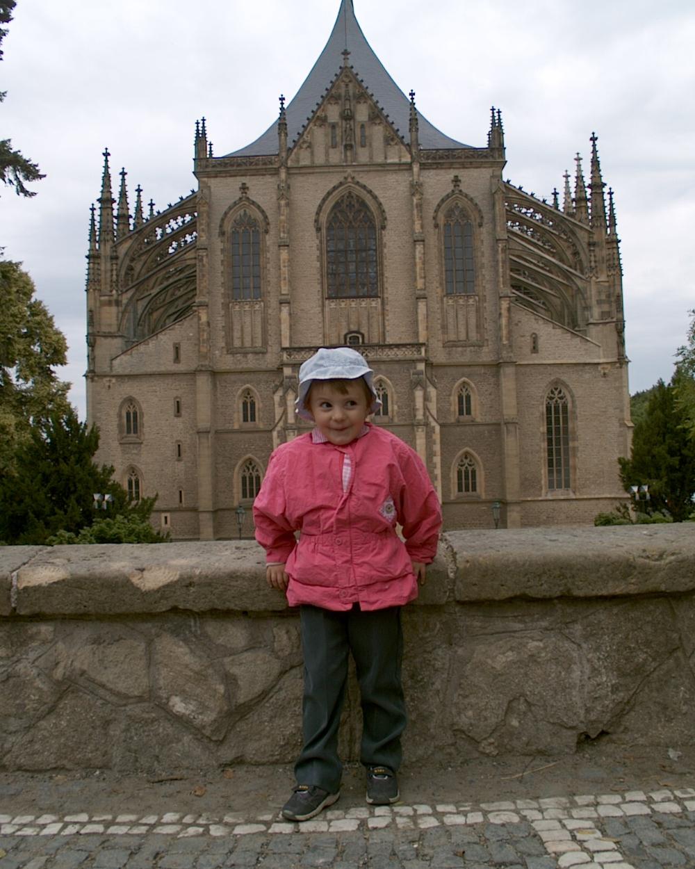 Borbála Kutná Horában, 2004 - Fotó: Barna Béla