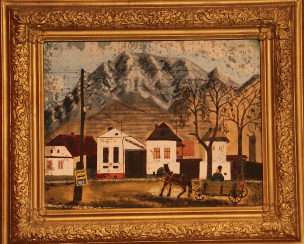 Édesapám, Barna Béla festménye Torockóról