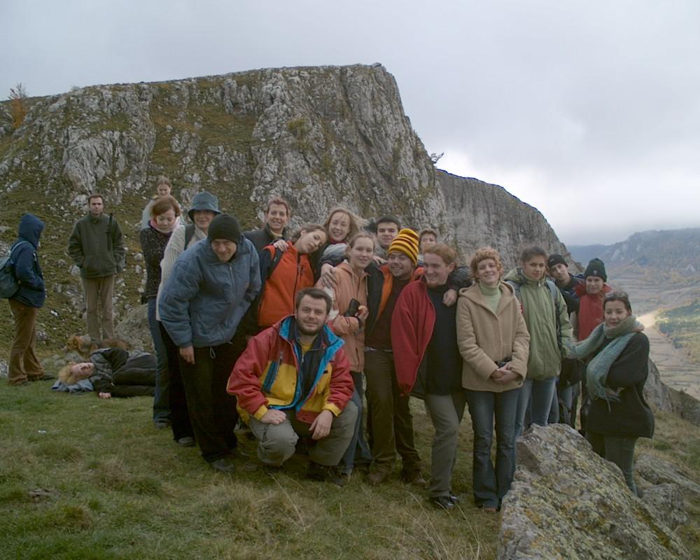 2003-as csoportkép a Székelykőn