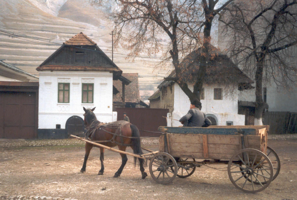 Torockó 1990-ben - Fotó Barna Béla