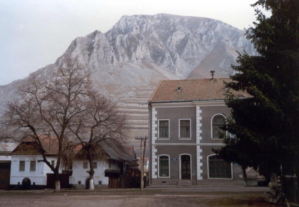 1990-es, Smena Symbollal készült képem Torockóról - Fotó: Barna Béla