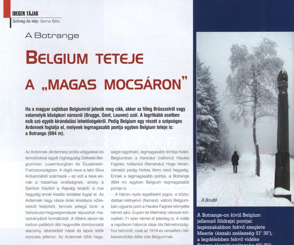 Hegyisport és Turista Magazin 2007