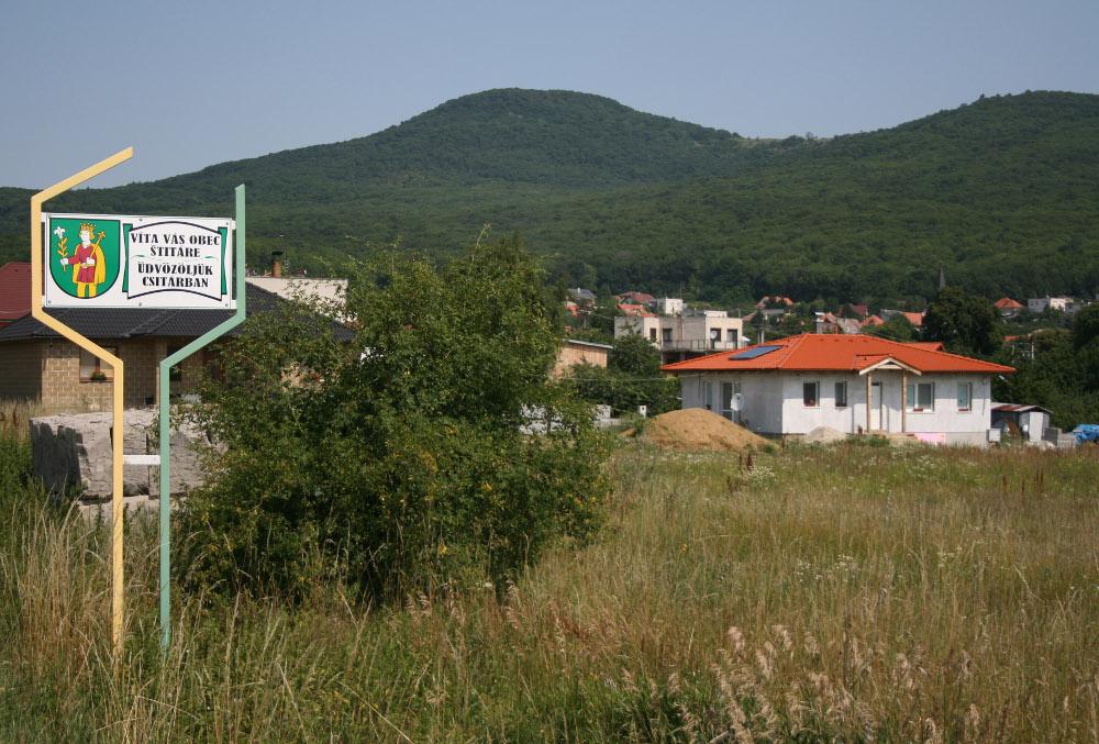 Üdvözöljük Csitárban - Fotó: Barna Béla
