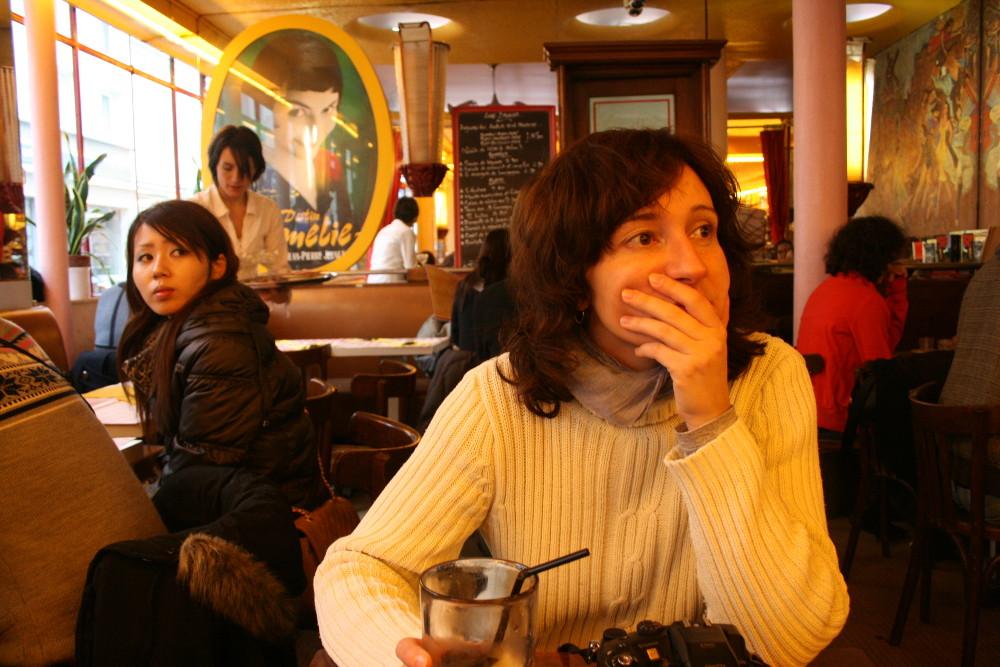 Amélie - Café les Deux Moulins - Fotó: Barna Béla