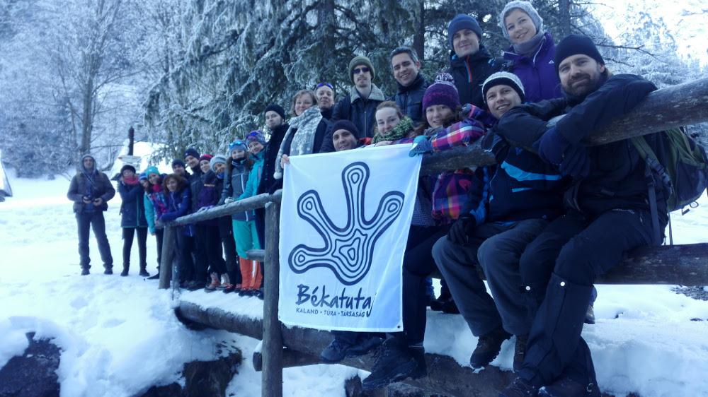 Valentin-napi Békatutajos csapat 2017. február 12-én