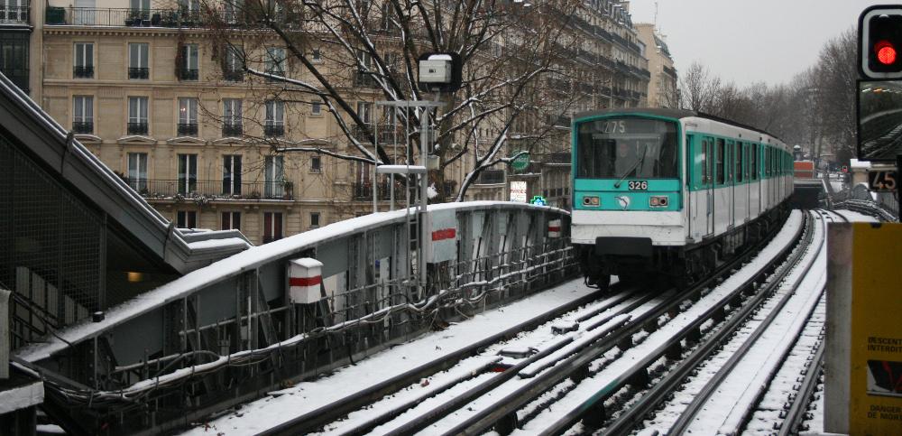 Metró a Montmartra - Fotó: Barna Béla