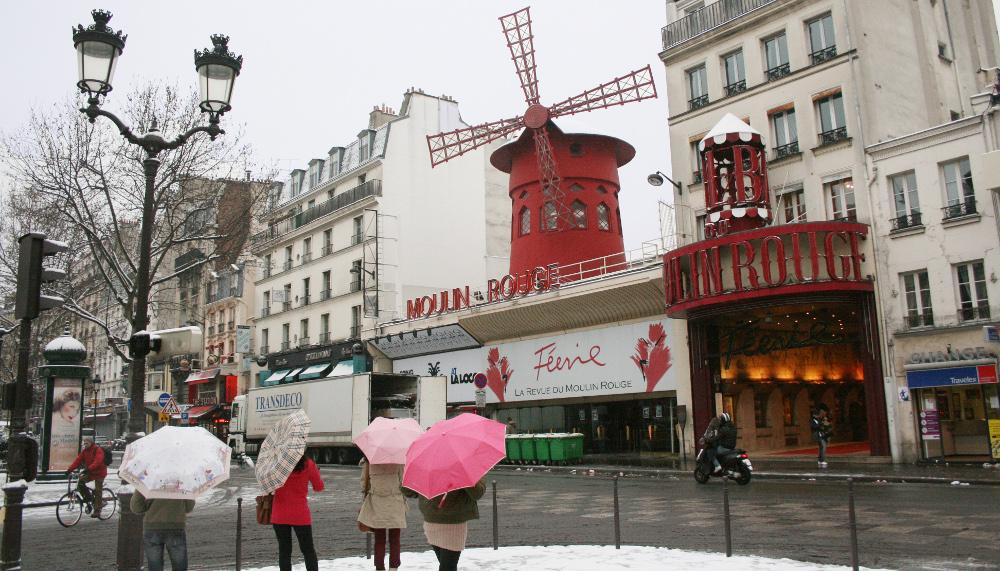 A Moulin Rouge - Fotó: Barna Béla