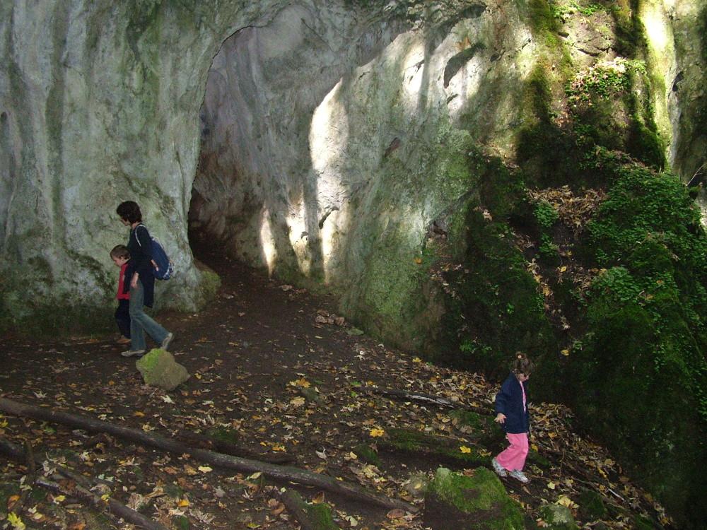 Az Udvar-kő alján - Fotó: Barna Béla