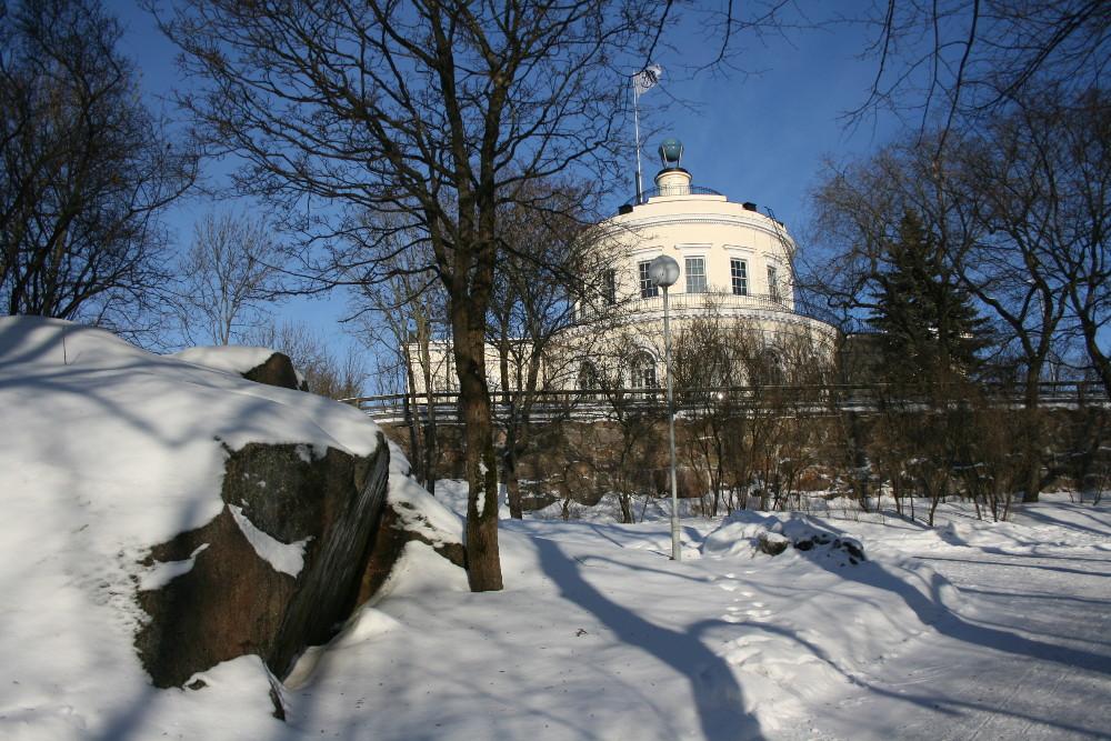 A Vartiovuori csillagvizsgálója - Fotó: Barna Béla