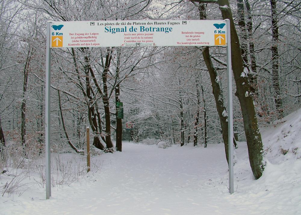 Téli séta Belgium tetején - Fotó: Barna Béla