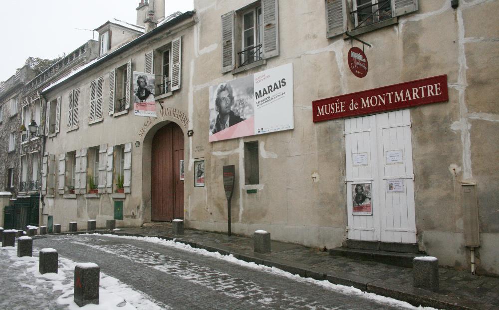 A rue Cortot 12 - Musée de Montmartre - Fotó: Barna Béla