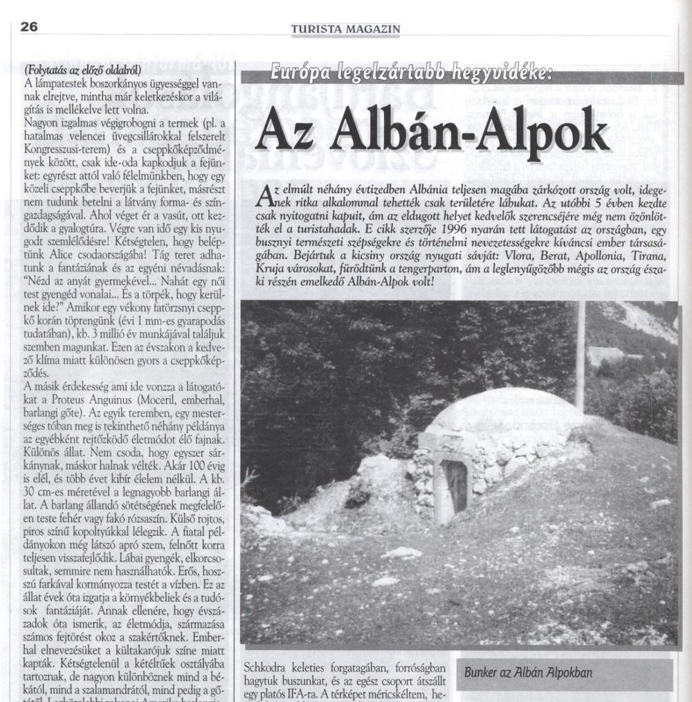 Turista Magazin 1998 áprlis