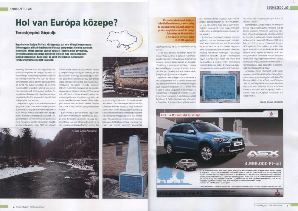 Turista Magazin, 2010 december