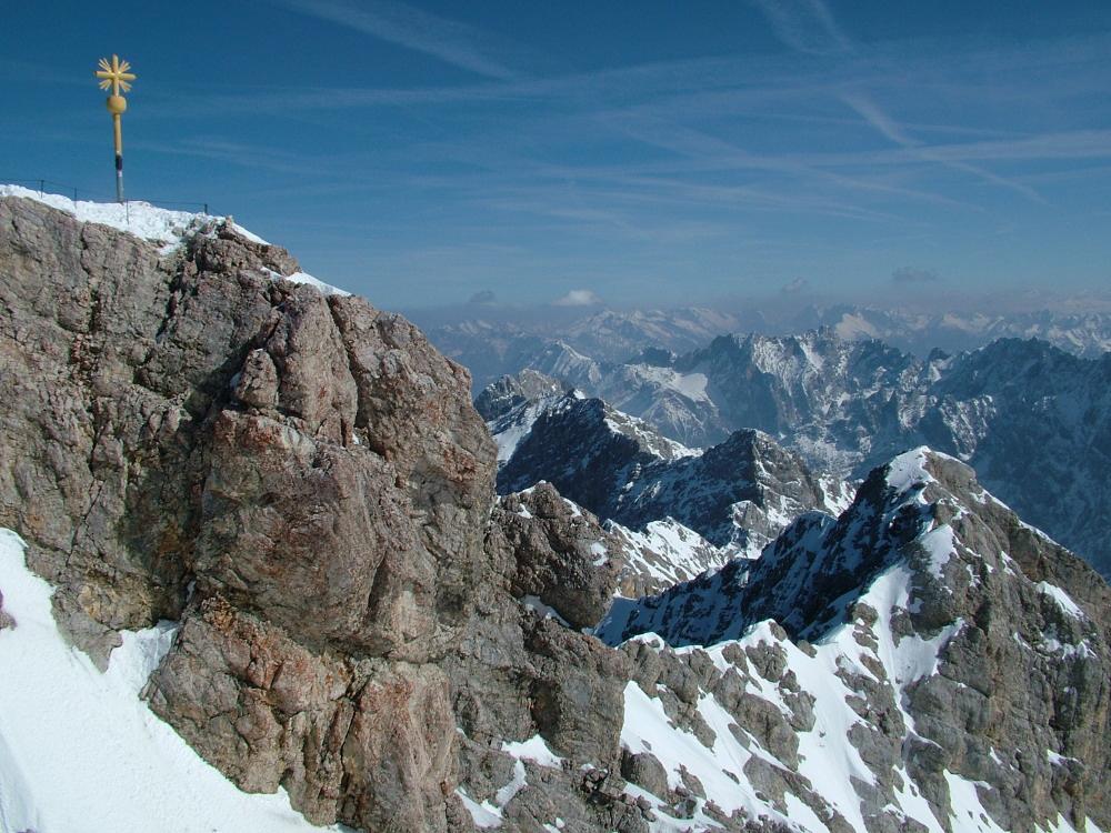 A Zugspitze - Fotó: Barna Béla
