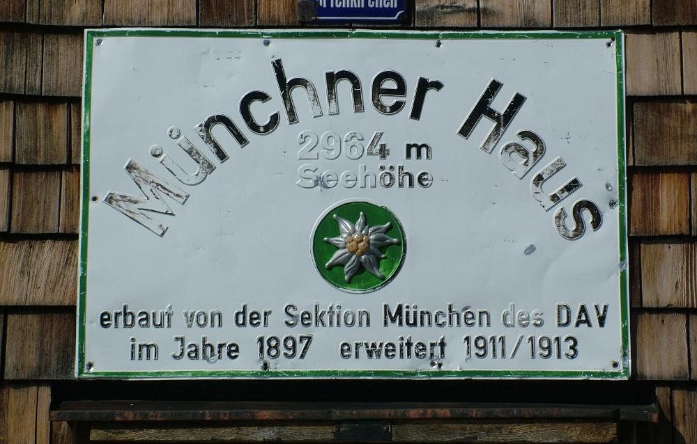 Münchner Haus - Fotó: Barna Béla
