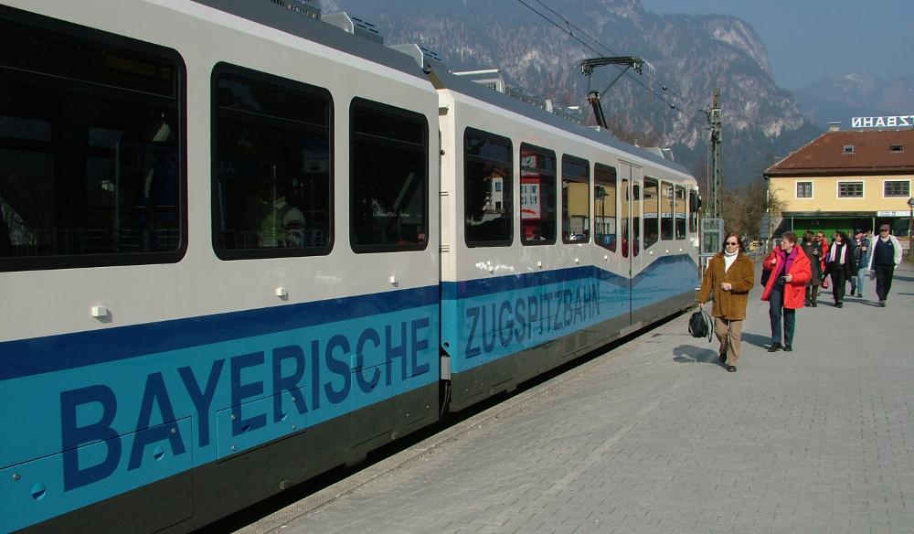 Bayerische Zugspitzbahn - Fotó: Barna Béla