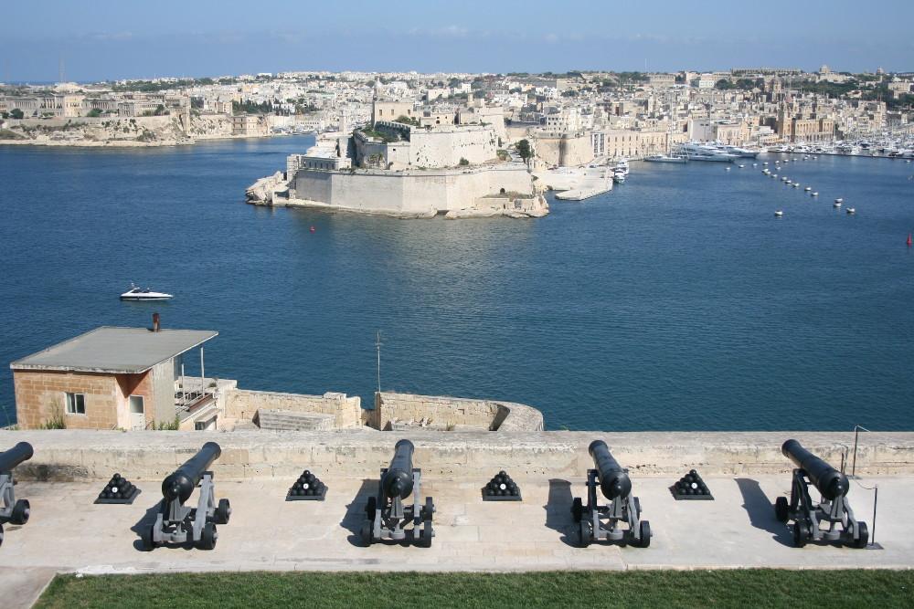 Málta erődje - Fotó: Barna Béla