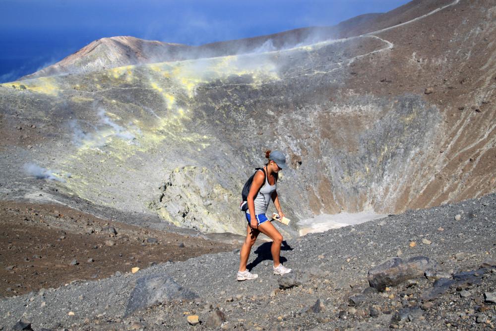 Krátertúra Vulcánón - Fotó: Barna Béla