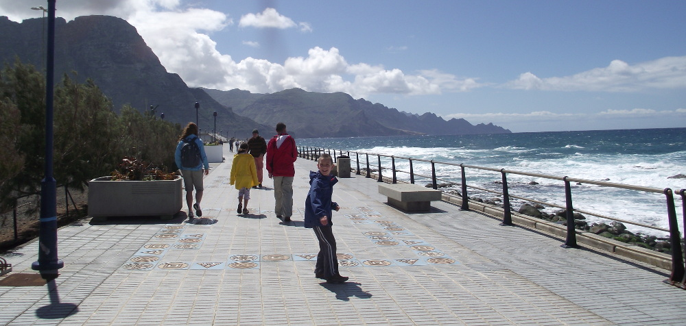 Puerto de las Nieves - Fotó: Fekete Mona