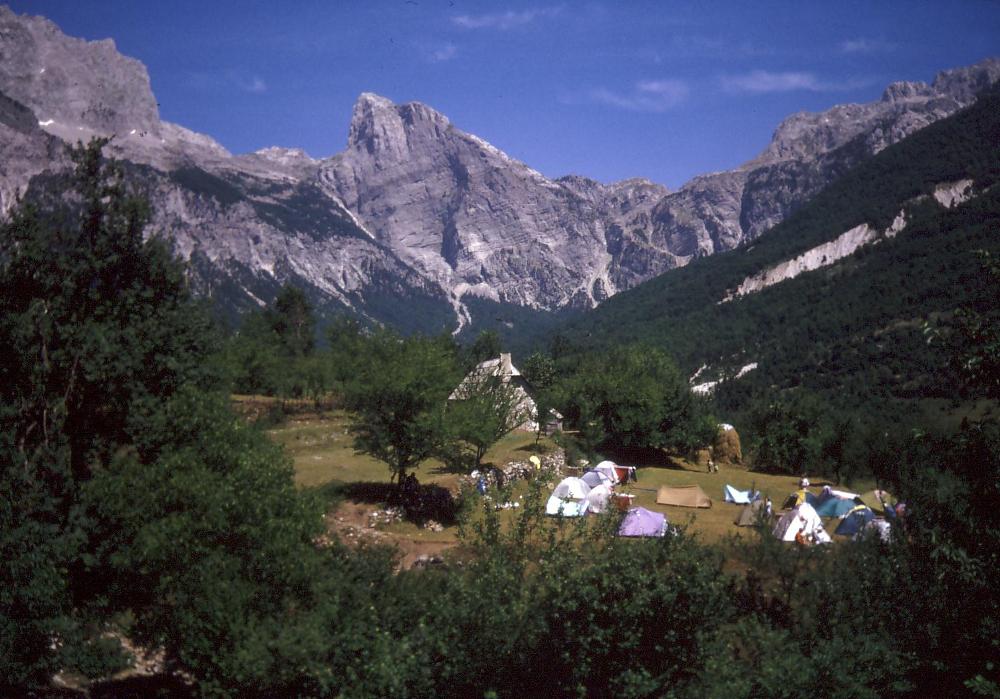 Az Albán-Alpok - Fotó: Barna Béla