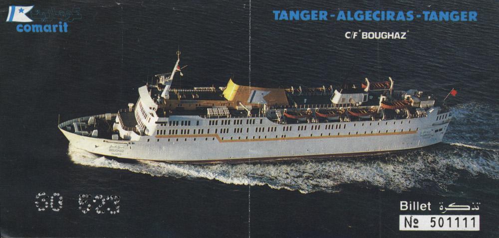Az Ibn Battúta hajó - ezzel hajóztam 1992-ben Afrikába