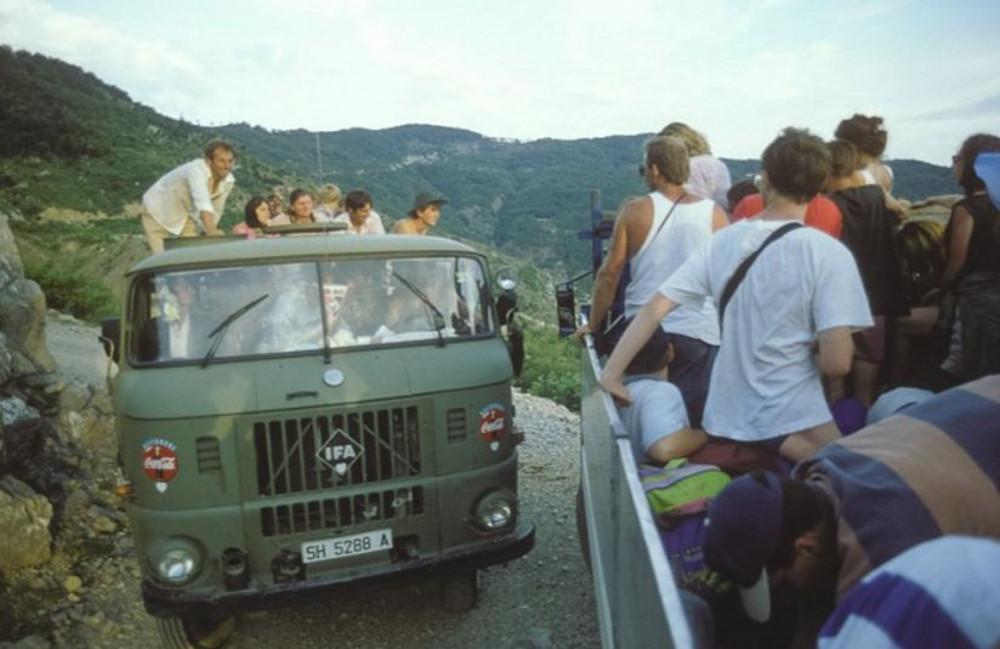 1996-os IFA utazás a Barakával Forrás: barakablog.reblog.hu