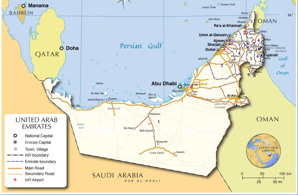 Abu Dhabi, az Emírségek fővárosa