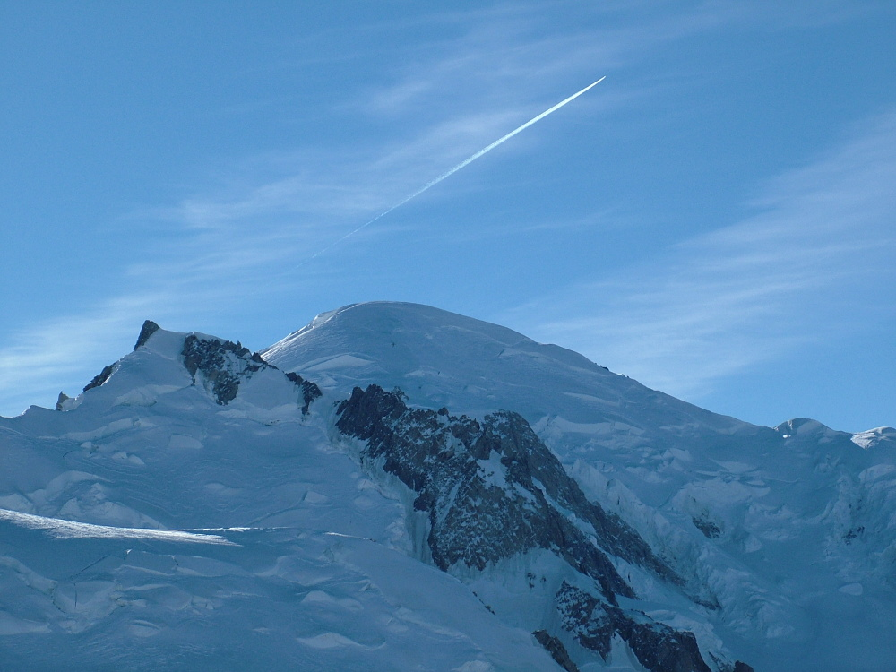 A Mont Blanc - Fotó: Barna Béla