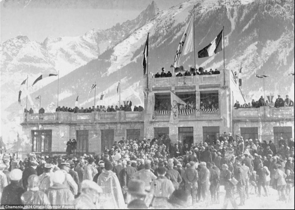 Olimpia Chamonix-ban 1924-ben