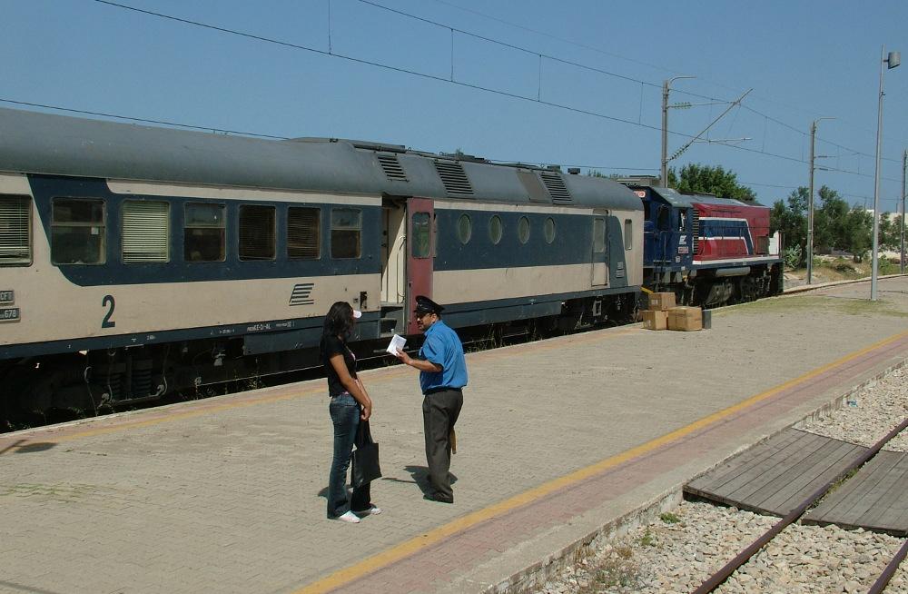 Vonattal Mahdiába - Fotó: Barna Béla