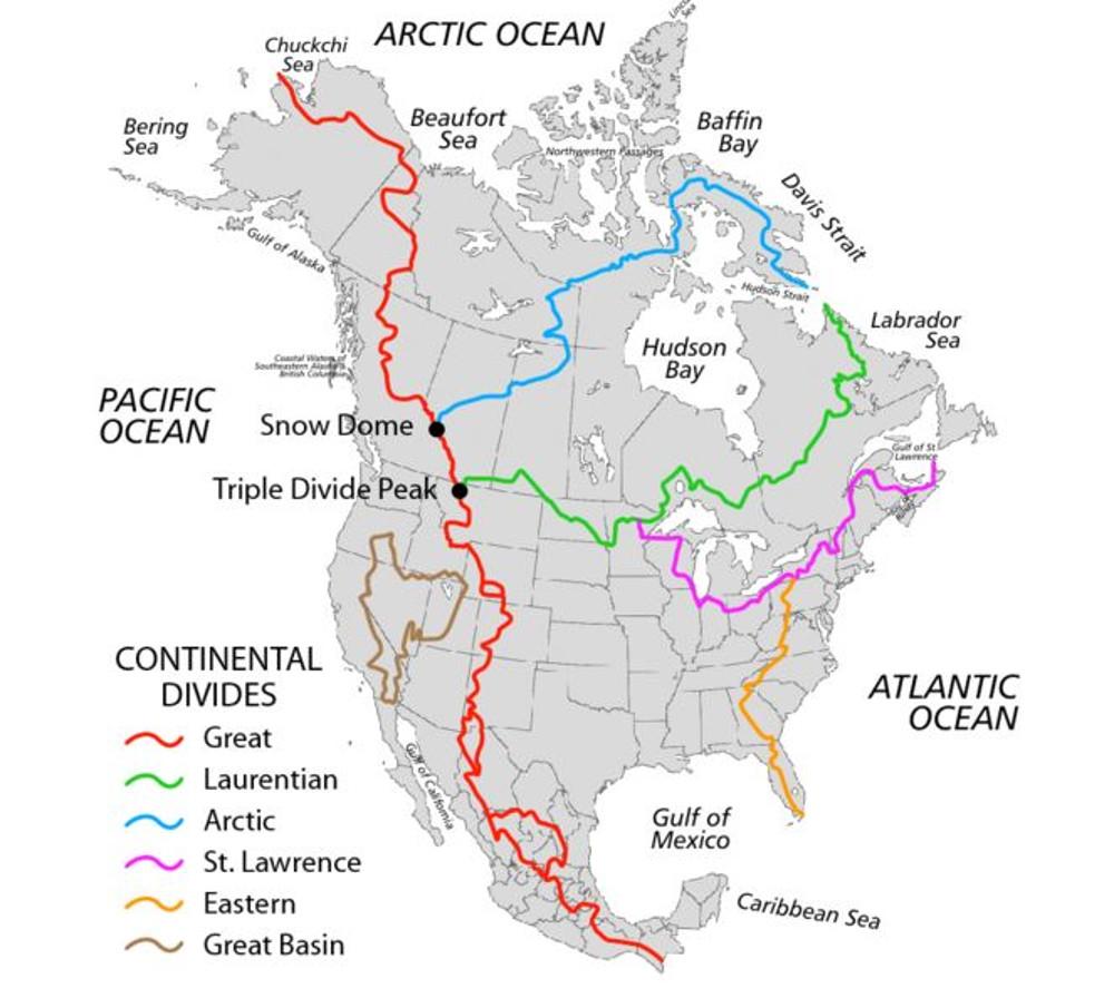 064 kontinental divides