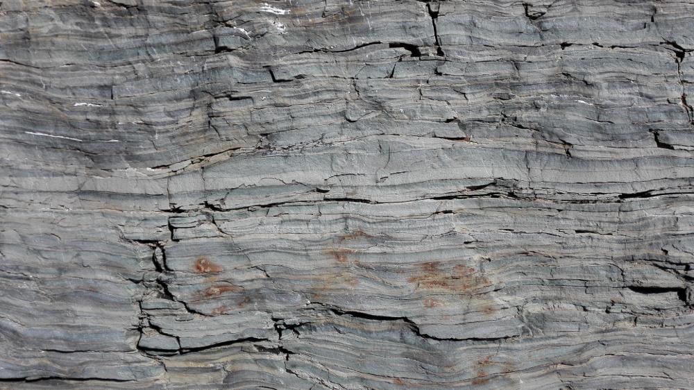 Kőzetek a Glacier Nemzeti Parkban - Fotó: Barna Béla
