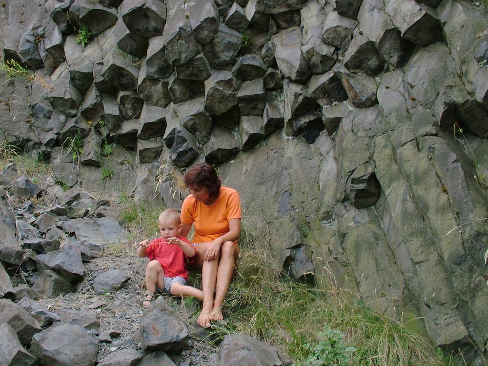 Boldi fiam a Hegyestűn 2005 augusztusában - Fotó: Barna Béla