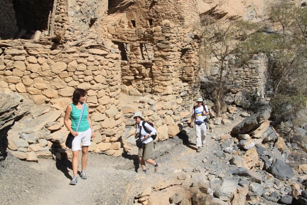 Romházak a kanyonban - Fotó: Barna Béla