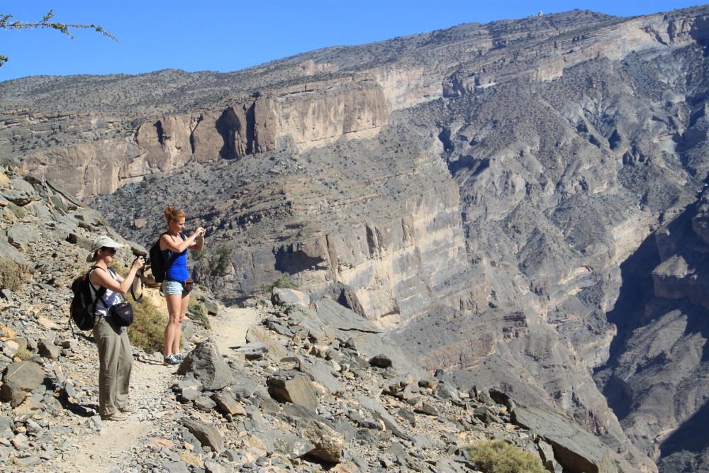 Az ománi Wadi Nakhr - Fotó: Barna Béla