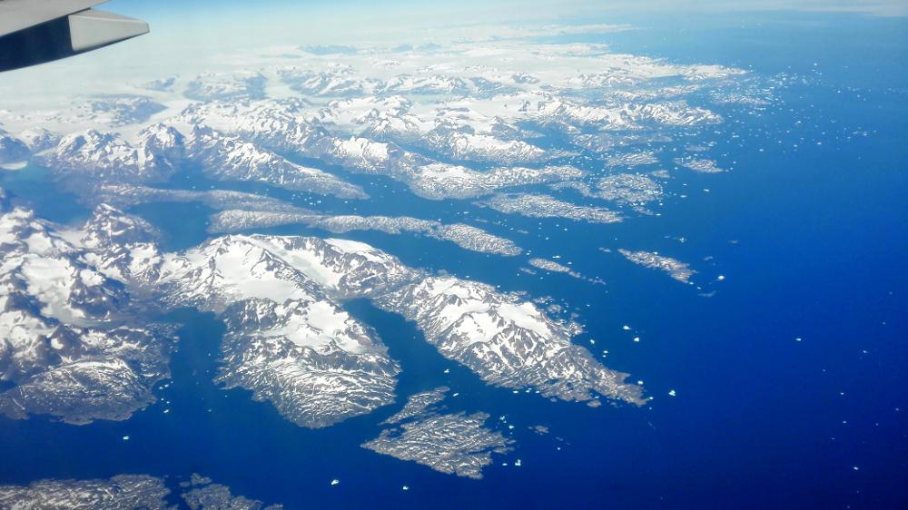 Jéghegyek Grönland partjainál - Fotó: Barna Béla