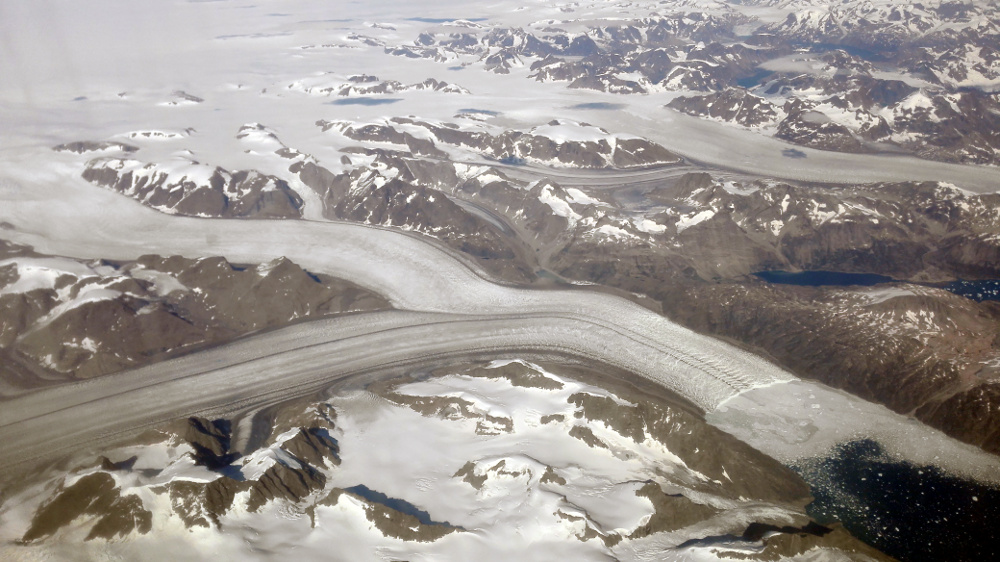 Jégár Kelet-Grönlandon - Fotó: Barna Béla