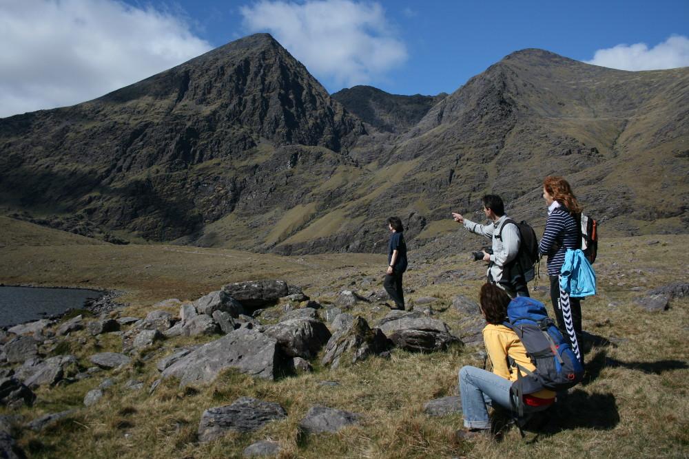 Hags Glen, útban felfelé - Fotó: Barna Béla