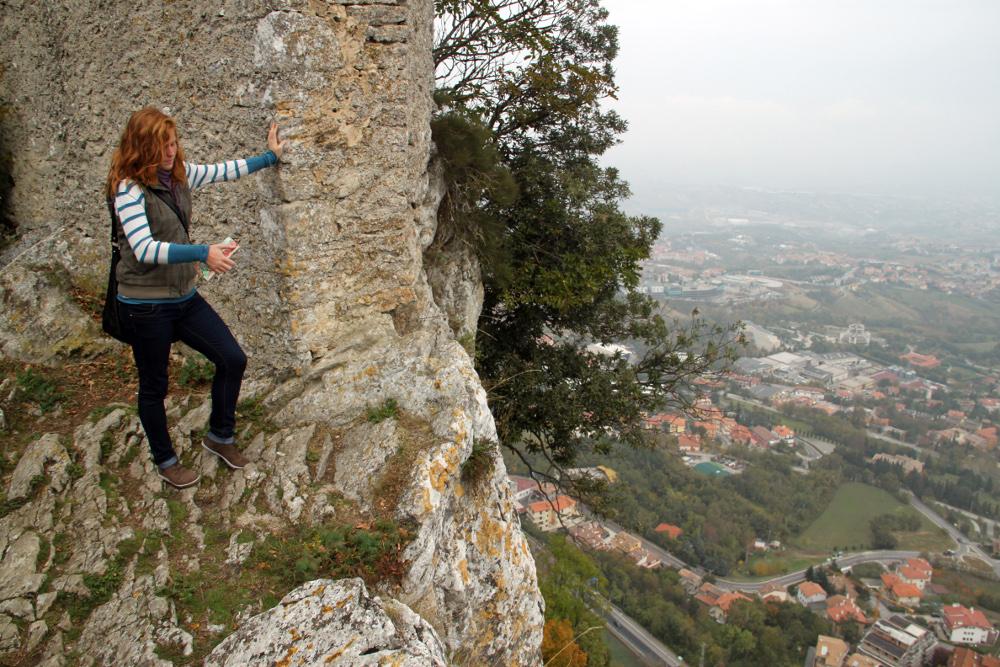Kilátás a második toronytól - Fotó: Barna Béla