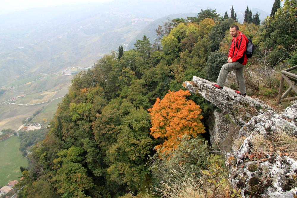 San Marino szikláin - Fotó: Fekete Mona