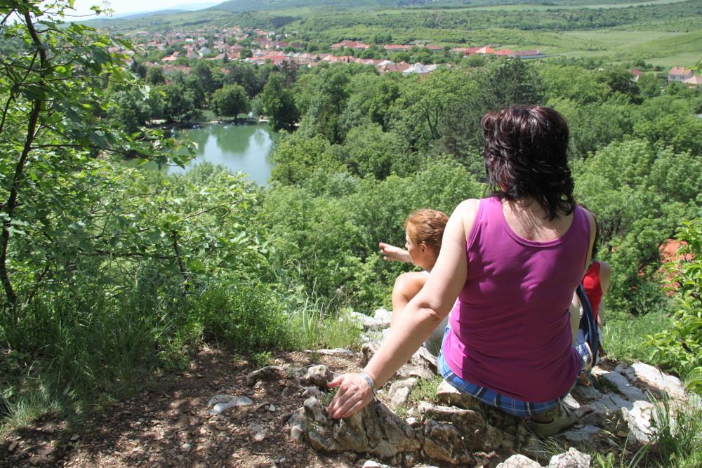 Kilátás a Kőbánya-oromról - Fotó: Barna Béla