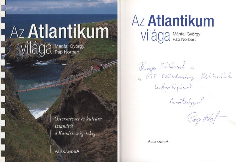 Az Atlantikum világa könyv címlapja
